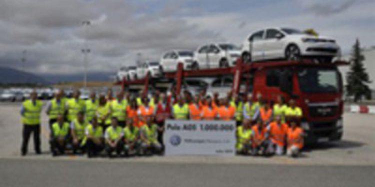 Fabricado en Navarra el Volkswagen Polo 6R un millón