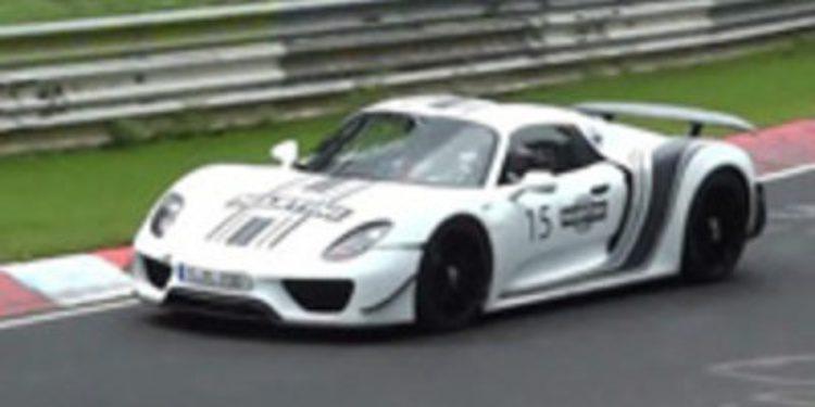Pillado el nuevo Porsche 918 Spyder de pruebas por Granada