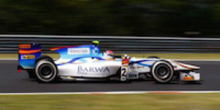 Josef Kral es el más rápido en los libres de GP2 en Hungría