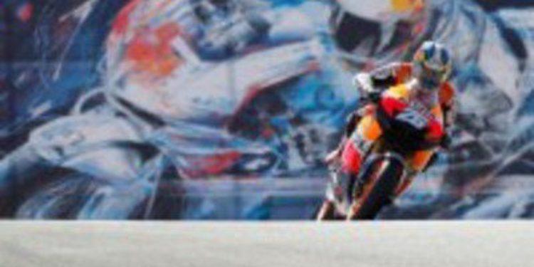 Dani Pedrosa también es el más rápido de los FP2 en California