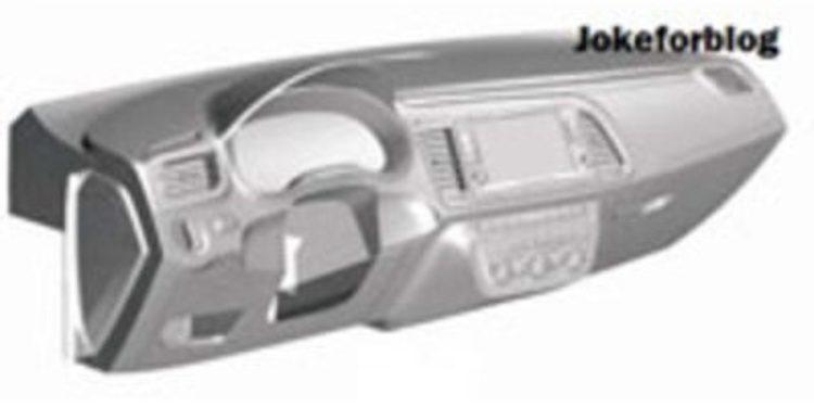 ¿Será este el tablero de instrumentos del nuevo Volkswagen Golf?
