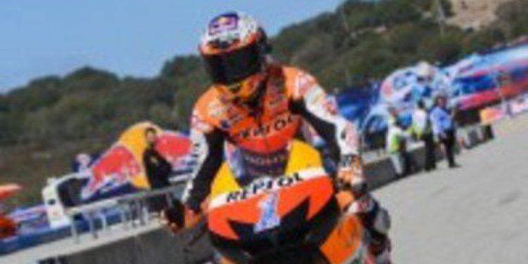 El equipo Repsol Honda no se baja del podio en Laguna Seca