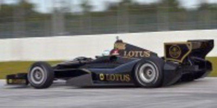 El futuro de Lotus en la IndyCar pende cada día de un hilo más fino