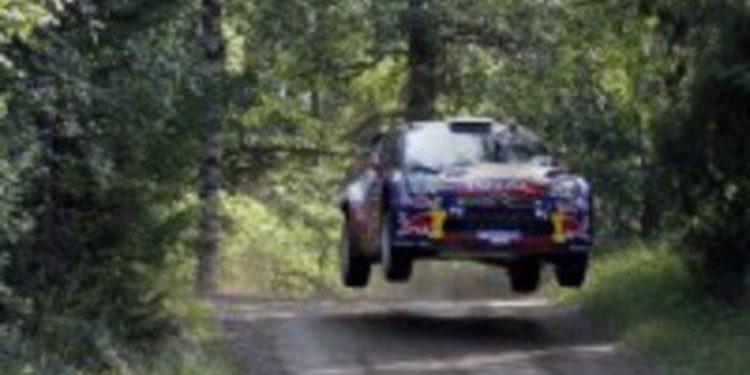 Sebastien Loeb cierra la 1ª etapa como lider con tres scratch en Finlandia