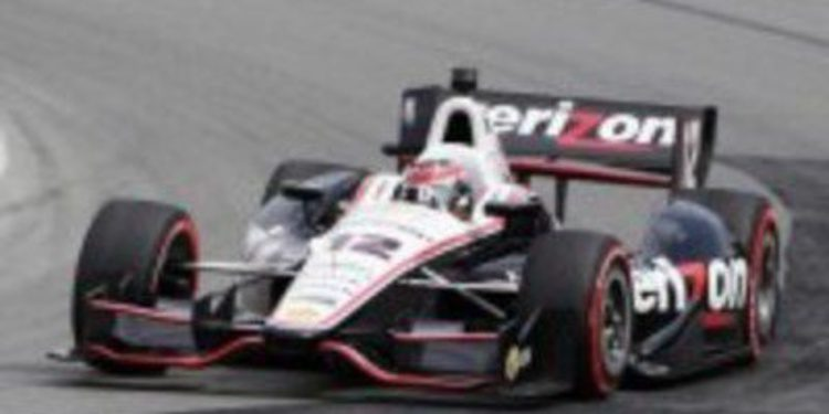 Will Power no deja escapar la pole de la IndyCar en Mid-Ohio