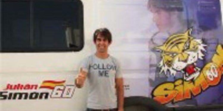 Julito Simon se entrena con una Honda CBR en Albacete