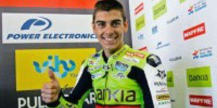 Alberto Moncayo muy cerca de sustituir a Iván Moreno en Moto3