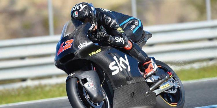 """Francesco Bagnaia: """"Me siento muy cómodo con la Moto2"""""""
