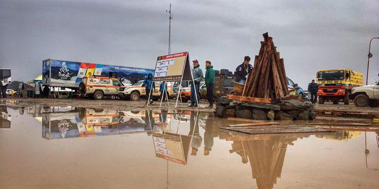 Suspendida la sexta etapa del Dakar 2017