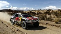 Coches   Así descansa el Dakar en La Paz: Nani Roma, la única oposición a Peugeot