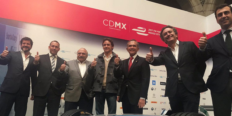 Esteban Gutiérrez debutará en la Fórmula E en Mexico