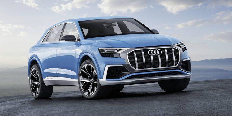 Audi lleva a Detroit el Q8 Concept, un SUV híbrido