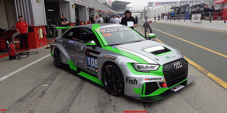 El Audi RS 3 LMS debuta este fin de semana en Dubai