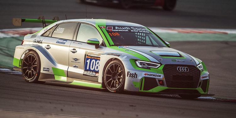El Audi RS 3 LMS gana la categoría TCR en Dubai