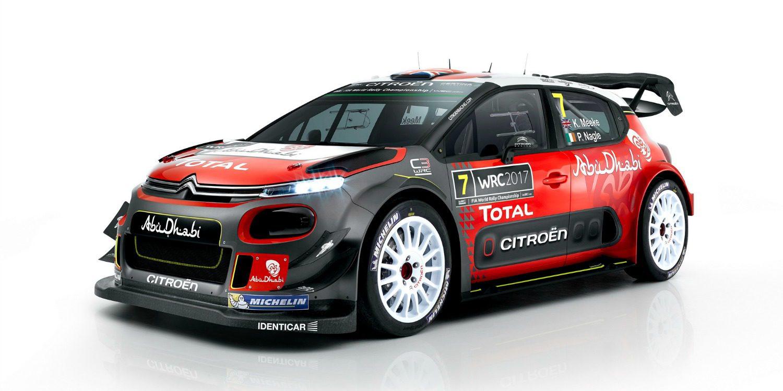 El nuevo Citroën C3 WRC llega al Campeonato del Mundo de Rallies