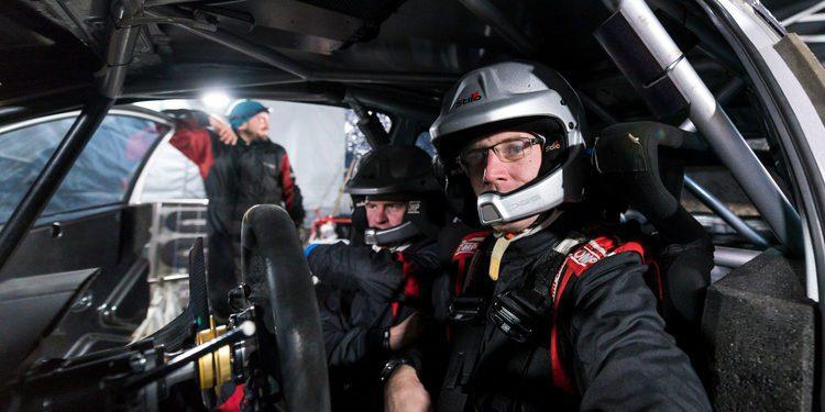 Toyota GAZOO Racing preparado para el Rally de Montecarlo