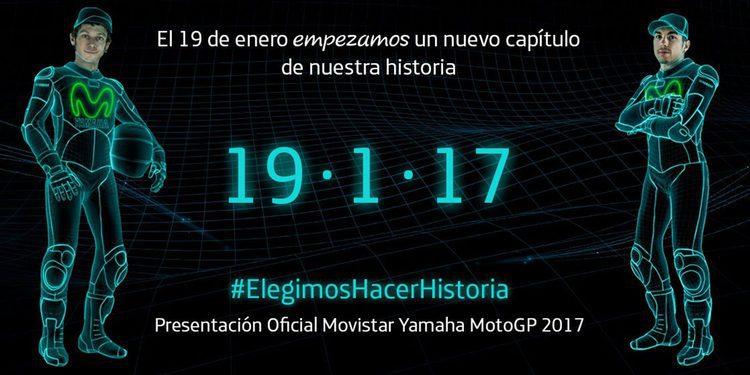 Presentación del nuevo Movistar Yamaha el 19 de enero