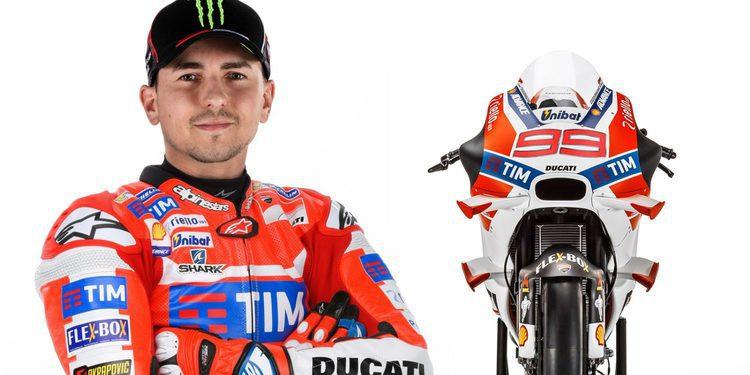 Presentación de Ducati