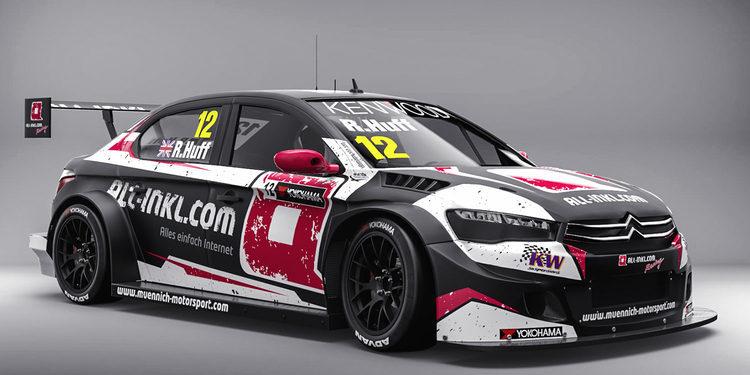 Rob Huff regresa a Münnich Motorsport para 2017