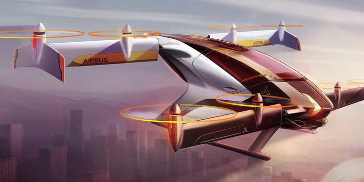 Airbus construye el nuevo taxi volador