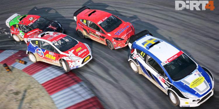 Dirt 4 contará con el Mundial de Rallycross