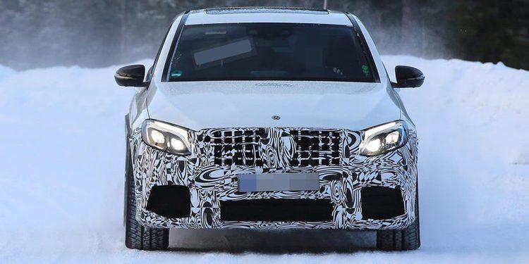 Mercedes quiere impresionar con el GLC 63 coupé