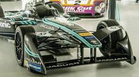 Felipe Massa probó el Jaguar eléctrico