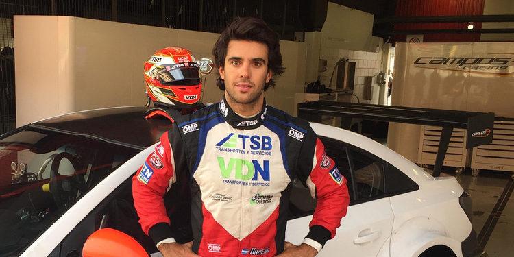 Manuel Urcera prueba con Campos y espera encontrar un volante en el WTCC