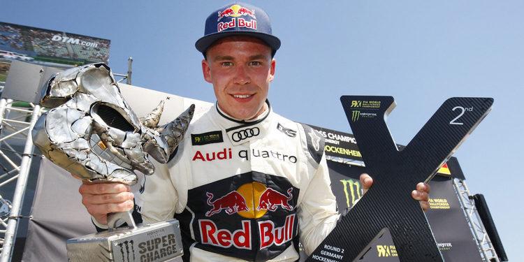 Mattias Ekström confirma a Toomas Heikkinen como compañero de equipo