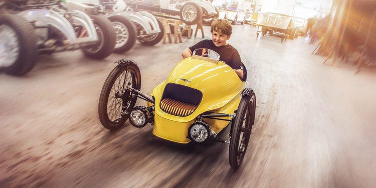 Nació el Morgan EV3 Junior, concebido para niños