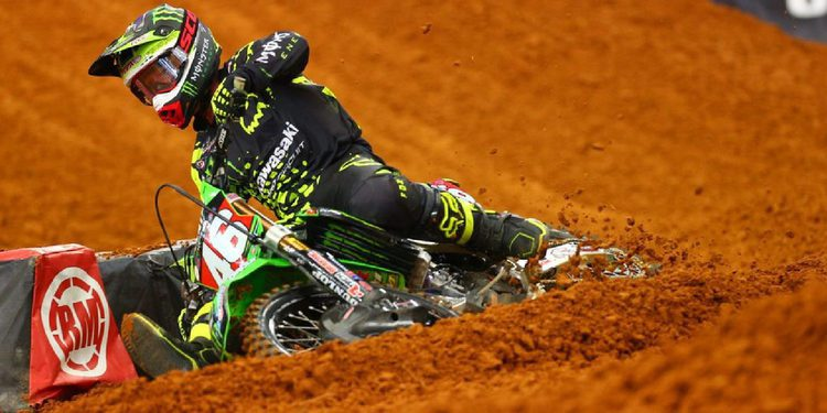 Lites West Supercross: Hill suertudo en pista seca