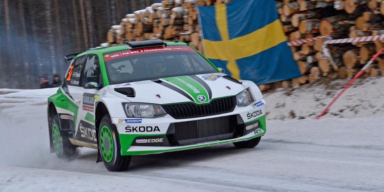 Pontus Tidemand se asegura la victoria del WRC 2 en Suecia