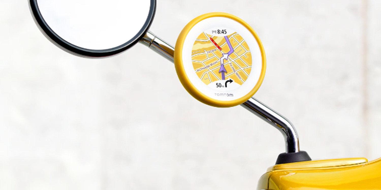 TomTom y Piaggio nos traen un novedoso navegador GPS