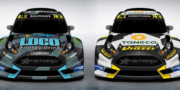 STARD, un nuevo equipo para el mundial de rallycross