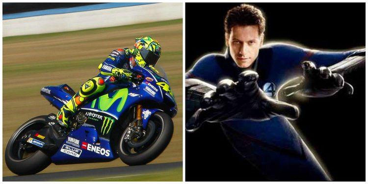 """MotoGP: Valentino Rossi, Mr.Fantástico en """"Los 4 fantásticos"""""""