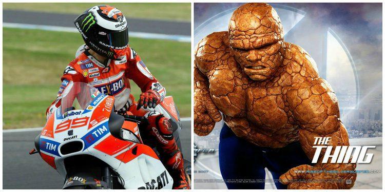 """MotoGP: Jorge Lorenzo, La Cosa en """"Los 4 fantásticos"""""""
