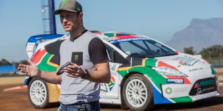 Petter Solberg, protagonista en la presentación del Killarney National Raceway