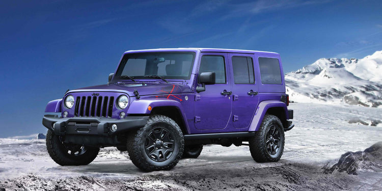 Nuevo Jeep Wrangler Unlimited Sahara Winter Edition