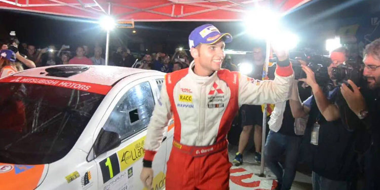Cristian García defenderá el título de campeón con un Fiesta R5