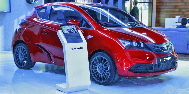 Tata Motors y Microsoft muestran el Tata C-Cube Concept.