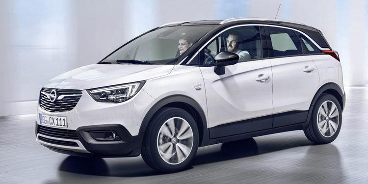 Opel se prepara con el Crossland X 2017