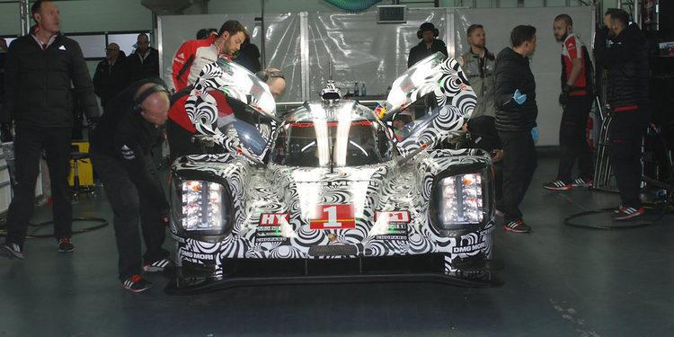 Porsche completa el primer test de 2017 en Aragón