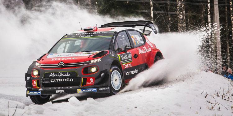 Citroën alineará tres C3 WRC desde el 'Tour de Corse'