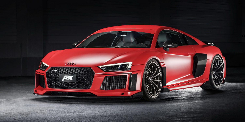 ABT prepara una versión mejorada del Audi R8 para Ginebra