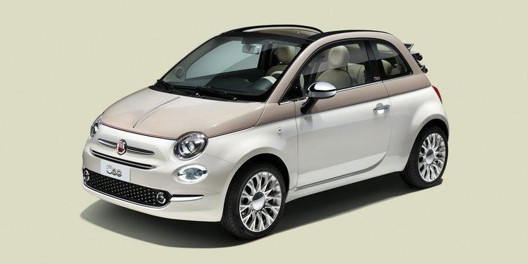 Fiat celebra el 60 aniversario de su modelo 500 en el Salón de Ginebra.