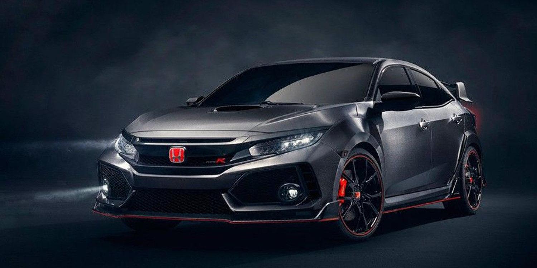 En detalle el Honda Civic Type R décima generación que estará en Ginebra