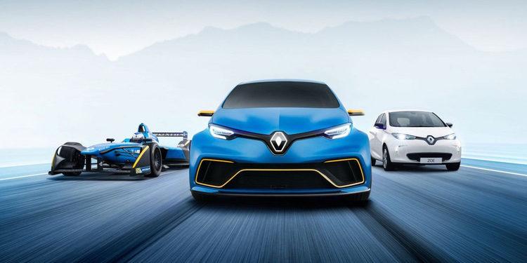Renault presenta el Renault ZOE e-Sport Concept, poder eléctrico