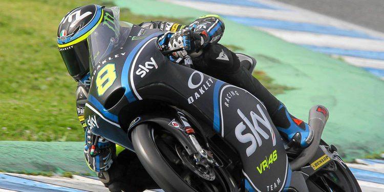 Bulega toma las riendas en el segundo día de test en Jerez
