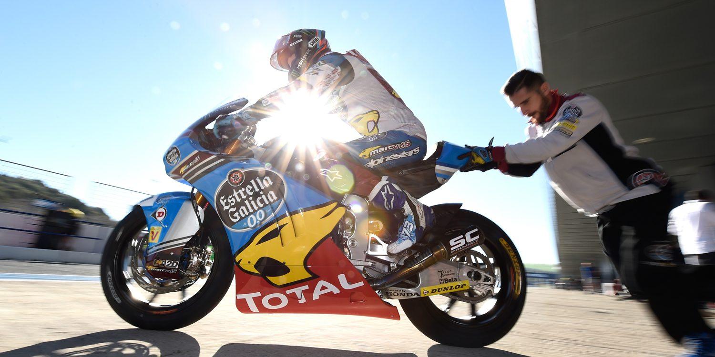 El Estrella Galicia 0,0 saca los dientes en Moto2