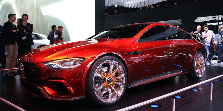 Mercedes-AMG GT Concept hace su aparición en Ginebra